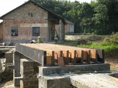 Бамбуковый мост грузоподъемностью 8 тонн